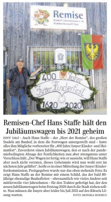 Remisen-Chef Hans Staffe